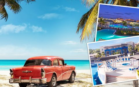 varadero old car and cuba resorts