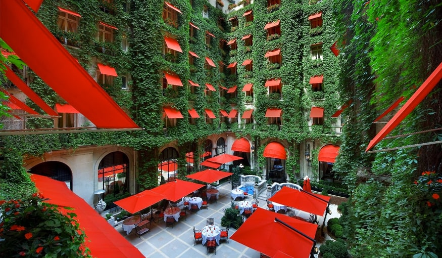 The Hotel Plaza Athenee paris