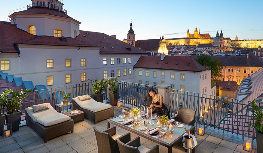 The Mandarin Oriental prague